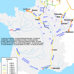 La carte du tourisme fluvial en France
