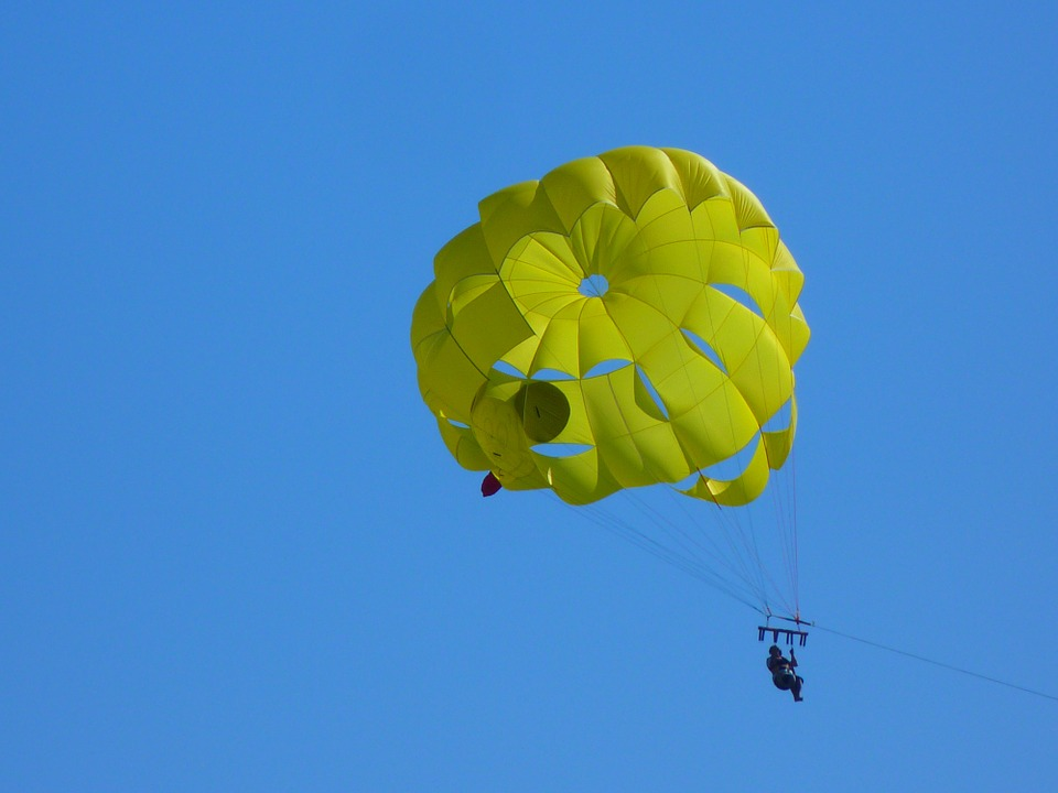 parachute ascensionnel